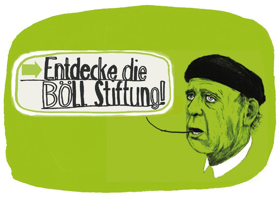 Entdecke die Böll-Stiftung