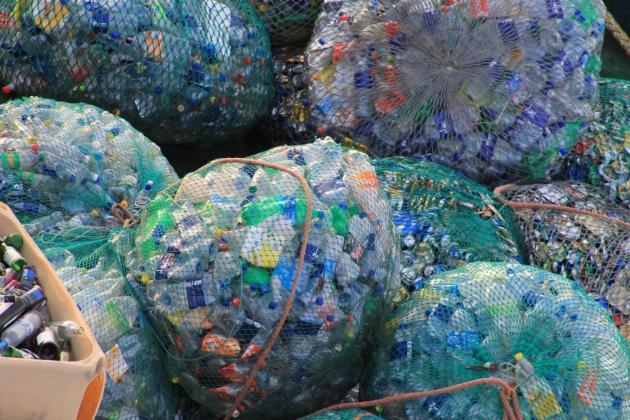 bouteilles en plastique - economie circulaire