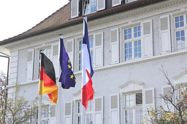 Frontière franco-allemand à  Kehl
