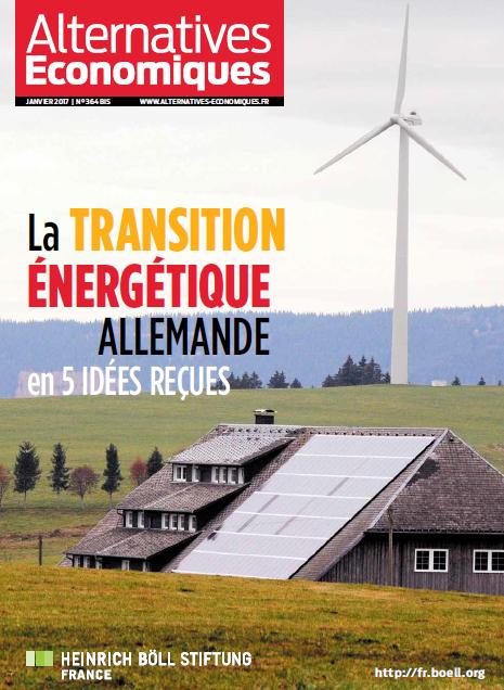 """Couverture du hors série """"La transition énergétique allemande en 5 idées reçues"""""""