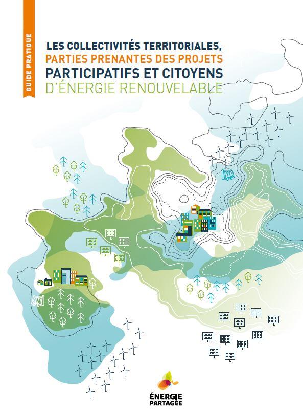 Couverture du guide pratique destiné aux collectivités territoriales pour aider les projets d'énergies renouvelables